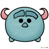 How to Draw Sulley, Disney Tsum Tsum