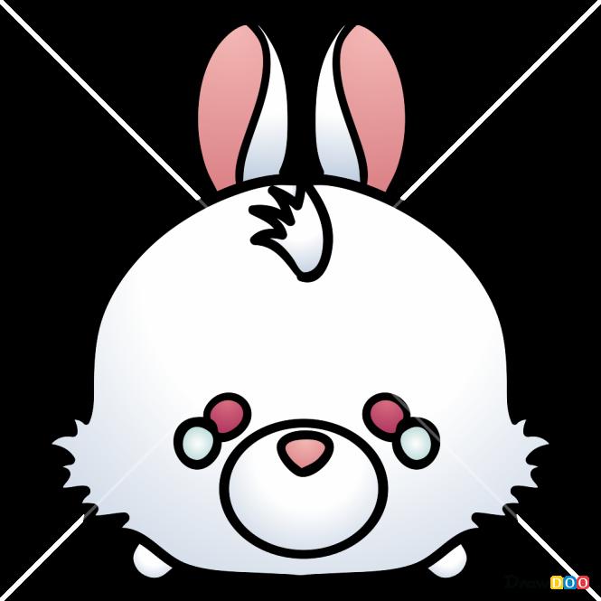 How to Draw White Rabbit, Disney Tsum Tsum