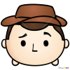 How to Draw Woody, Disney Tsum Tsum