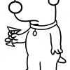 How to Draw Brian Griffin, Dogs and Puppies