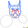 How to Draw Boxer Dog, Dogs and Puppies