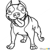 How to Draw Cute Pit Bull, Dogs and Puppies