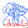 How to Draw Puppy and Kitty, Dogs and Puppies