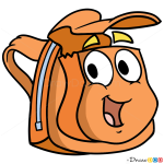 How to Draw Rescue Pack, Dora