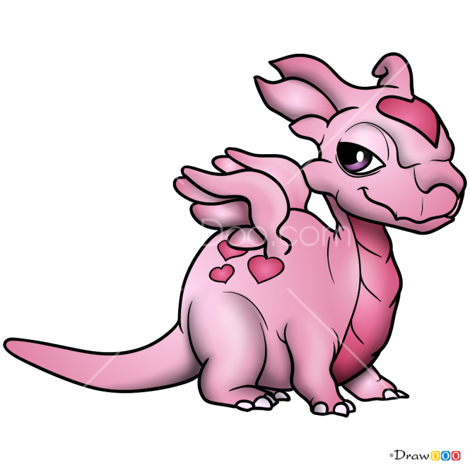 How to Draw Love Dragon, Dragon Mania legends