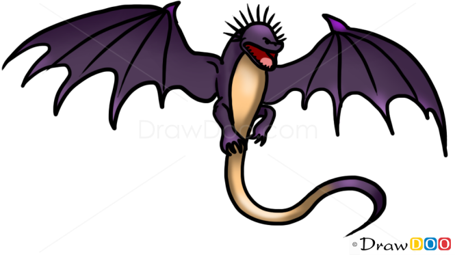 How To Draw Skrill Dragon Dragons And Beasts