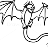 How to Draw Skrill Dragon, Dragons and Beasts