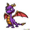 How to Draw Spyro Dragon, Dragons and Beasts