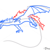 How to Draw Fire Dragon, Dragons and Beasts