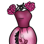 How to Draw Briar Beauty Dress, Dolls Dress Up