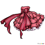 How to Draw Anime Dress, Dolls Dress Up