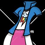 How to Draw Rainbow Dash Dress, Dolls Dress Up