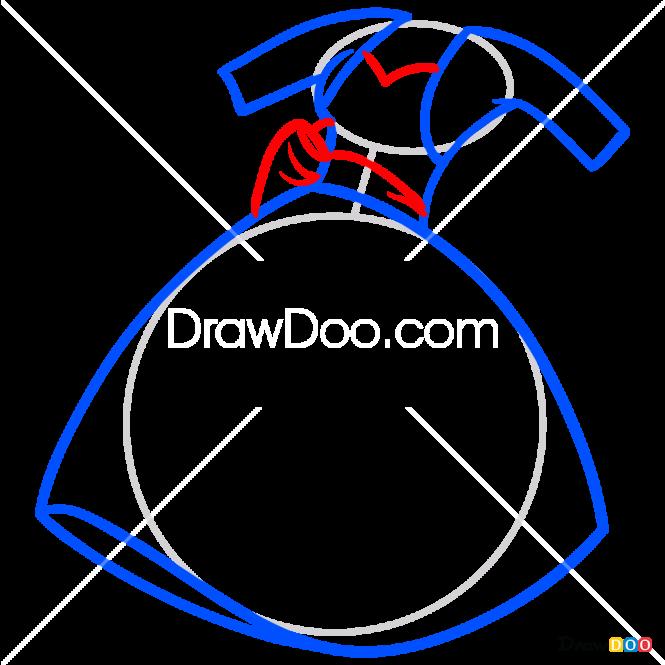 How to Draw Pinkie Pie Dress, Dolls Dress Up