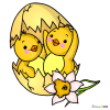 How to Draw Adorable Chicks, Easter