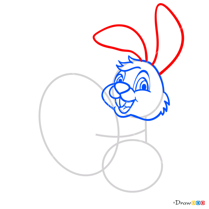 How to Draw Bunny with Egg, Easter
