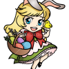 How to Draw Chibi Easter Girl, Easter