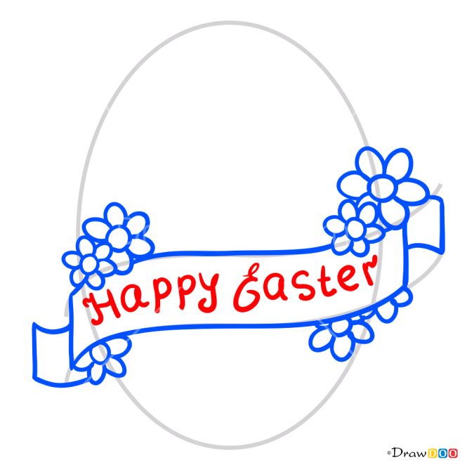How to Draw Happy Easter, Easter
