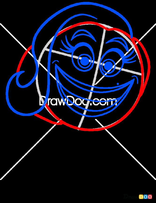 How to Draw Crazzy Happy, Emoji Movie