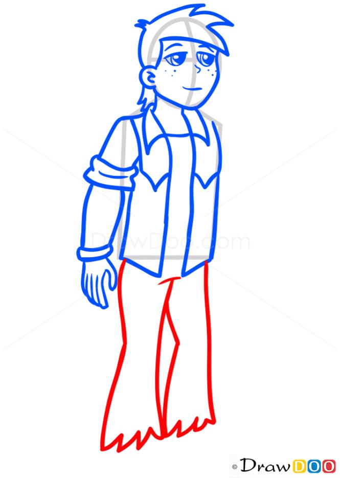 How to Draw Big Mac, Equestria Girls