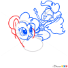 How to Draw Pinkie Pie Riding, Equestria Girls