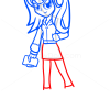 How to Draw Princess Luna, Equestria Girls