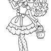 How to Draw Madeline Hatter, Ever After Higt