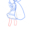How to Draw Cerise Hood, Ever After Higt