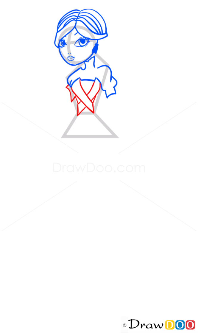 How to Draw Eva, Ever After Higt