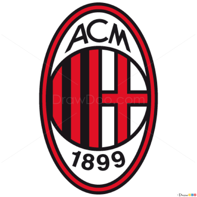 How to Draw Milan, Football Logos