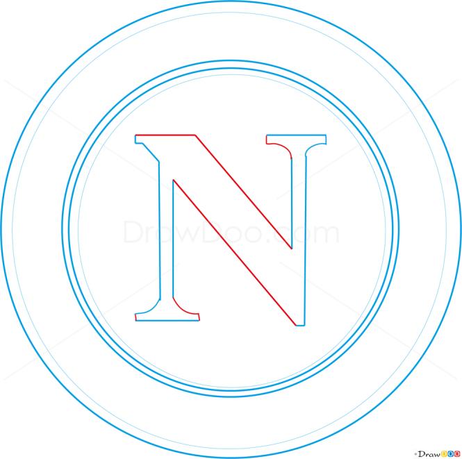 How to Draw Napoli, Football Logos