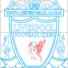 how to draw a liverpool badge step by step