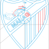 How to Draw Malaga, Football Logos