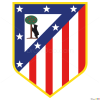 How to Draw Atletico, Madrid, Football Logos