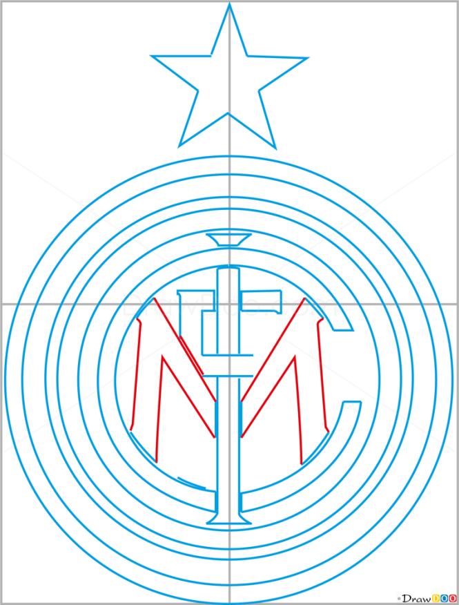 How to Draw Inter, Milan, Football Logos