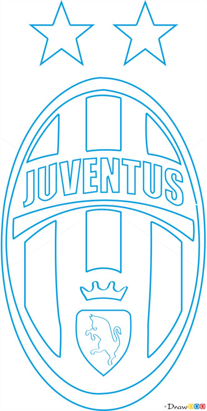 How to Draw Juventus, Football Logos