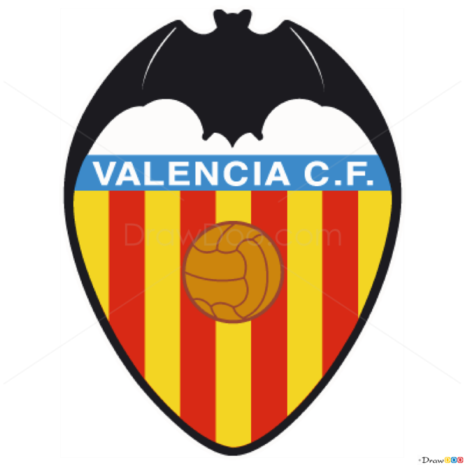 How to Draw Valencia, Football Logos