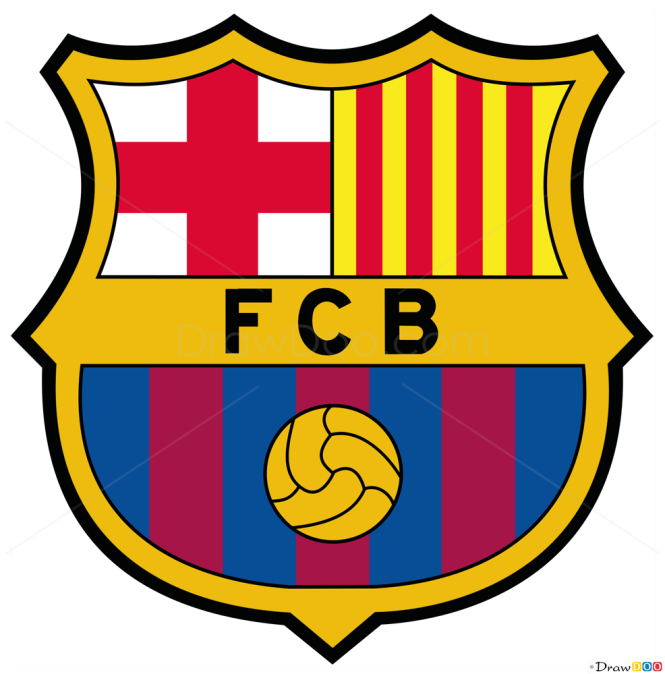 how to draw barcelona football logos how to draw drawing ideas draw something drawing tutorials portal