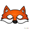 How to Draw Fox Mask, Face Masks