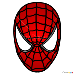 How to Draw Spiderman Mask, Face Masks