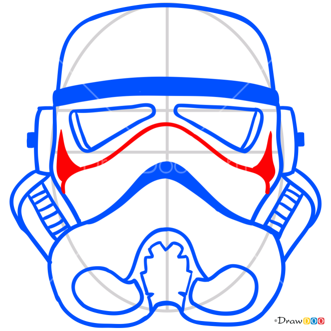 How to Draw Clone Mask, Face Masks