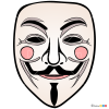 How to Draw Guy Fawkes Mask, Face Masks