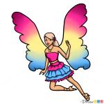 How to Draw Barbie, Fairies