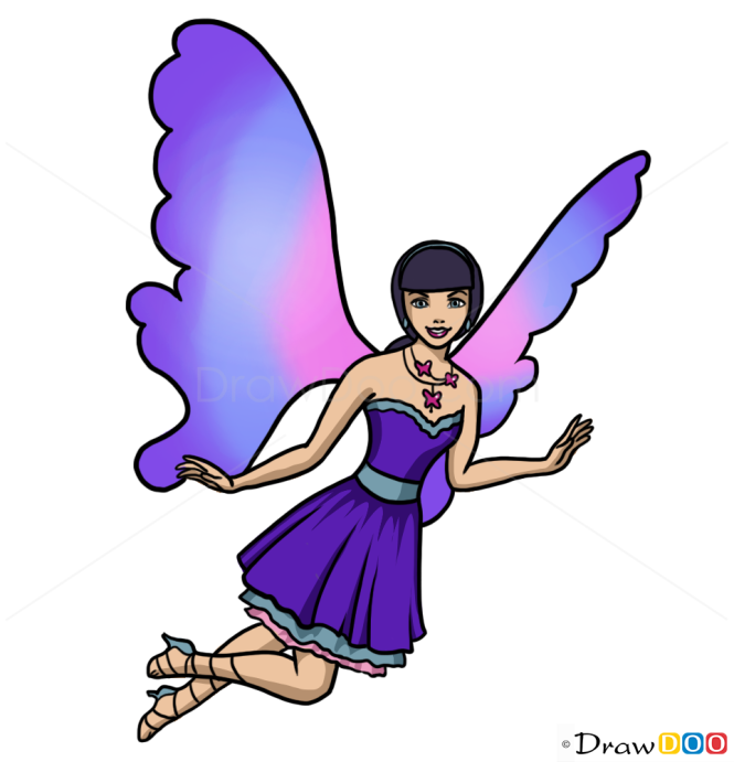 How to Draw Raquelle, Fairies