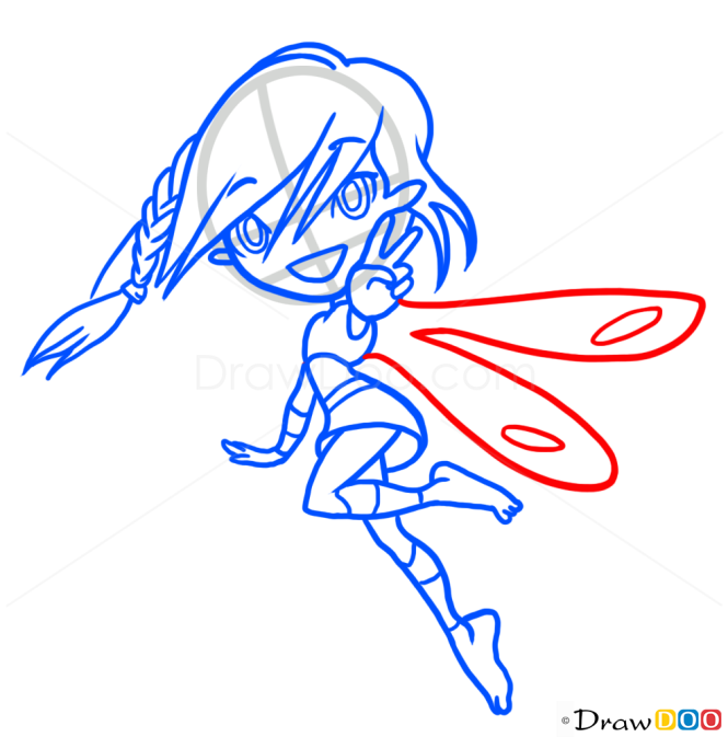 How to Draw Chibi Fairy, Fairies