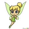 How to Draw Chibi TinkerBell, Fairies