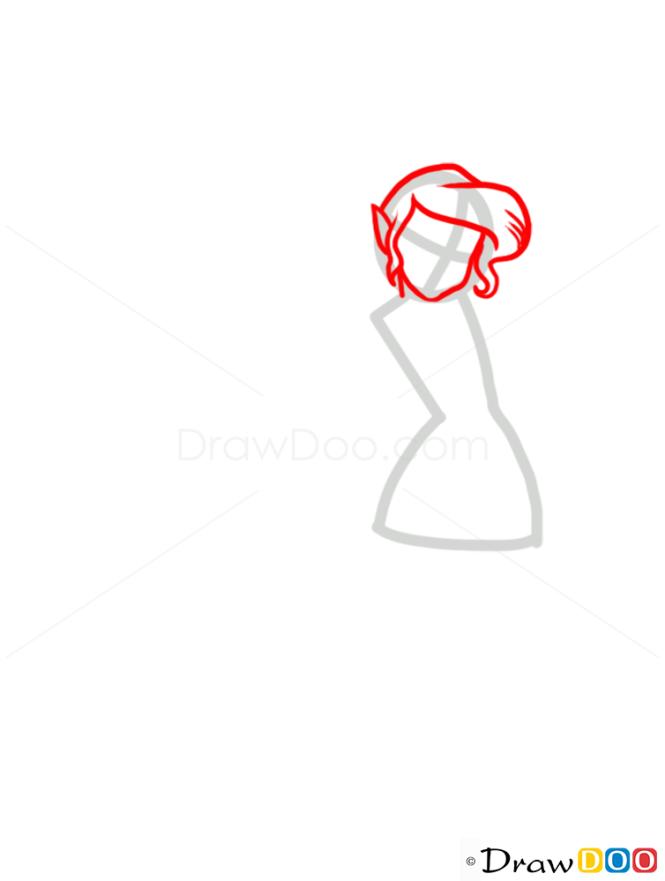 How to Draw Vidia, Fairies