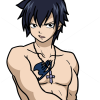 How to Draw Gray, Fairy Tail