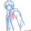 How to Draw Jellal Fernandes, Fairy Tail