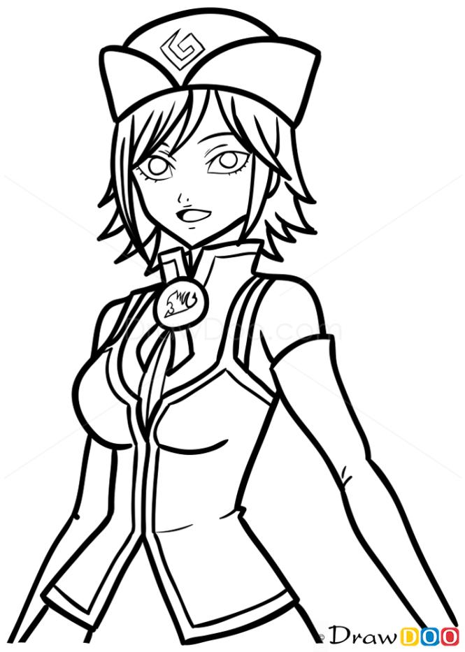 How to Draw Juvia, Fairy Tail