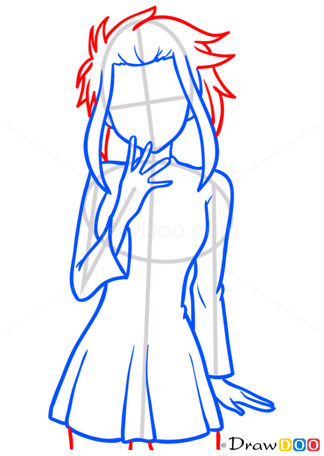 How to Draw Levy McGarden, Fairy Tail